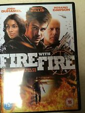 Bruce Willis Rosario Dawson FIRE WITH FIRE ~ 2012 Action Thriller | UK DVD