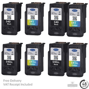 Remanufactured Canon PG540/XL CL541/XL Ink Cartridges For Canon MG3250 Printers