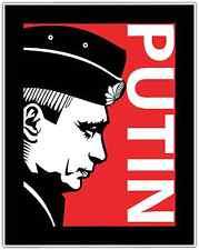 "Vladimir Putin Russia President Car Bumper Window Locker Sticker Decal 4""X5"""