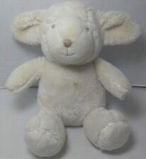 """Baby Gap Sheep Lamb Beige Super Soft Stitched Face 8"""" Plush Stuffed Easter Toy!"""