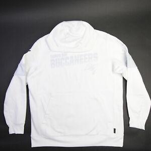 Tampa Bay Buccaneers Nike Dri-Fit Sweatshirt Men's White Used