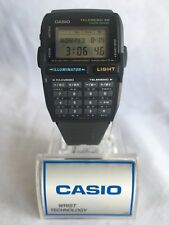 Vintage Casio TeleMemo 30 Data Bank Calculator Rare Watch Wrist Watch New!