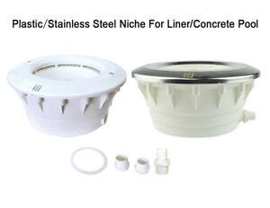Plastic Niche for Concrete Pool / Liner Pool for PAR56 Underwater LED Light