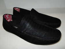 Stacy Adams Cicero Perfed Moc Toe Slip On Shoes 25172-001 Men's Size 13 M Black