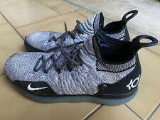 Mens NIKE Zoom KD 11 'White Oreo Black' Basketball Shoes - AO2604-006 - Sz US12