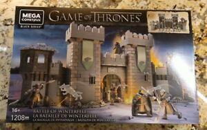 GAME OF THRONES Battle of Winterfell GMN75 1208 pcs MEGA CONSTRUX
