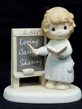 Precious Moments TEACH US TO LOVE ONE ANOTHER Teacher 1996 Membership Figurine