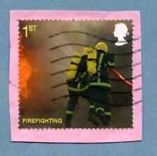 GB/Reino Unido Sello 2009 Fuego y Rescate SG2958 para combatir incendios