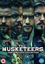The Musketeers – The Complete Collection (Series 1-3) DVD BBC Period Drama