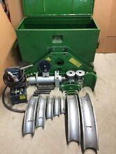 """Greenlee 884 885 Rigid Bender 1 1/4"""" - 5"""" with Hydraulic Pump"""