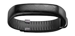UP2 by Jawbone Sleep and Activity Tracker Bluetooth Wristband Fitness - Black