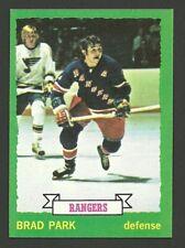Brad Park New York Rangers 1973-74 Topps Hockey Card #165 NM/M