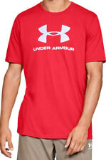 Under Armour Men's Heat Gear T Shirt Loose Sportstyle Charged Cotton Red Xl Nwot