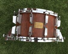 Sonor African Bubinga Snare Drum Rare Horst Link 8x14 24 lugs Amazing Condition!