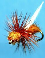 Smith Cinnamon Flying Ant Fly Fishing Flies - One Dozen Flies - Choice of Size