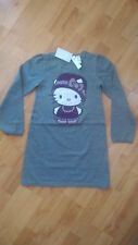Hello Kitty Kleid Strickkleid Gr. 122/128 H&M Neu mit Etikett!