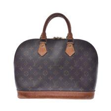 LOUIS VUITTON Monogram Alma Monogram Brown M51130 Hand Bag 805000934514000