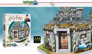 Wrebbit 3D Puzzle Harry Potter - Hagrid`S Cottage - New/Boxed