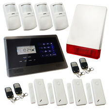 Sicurezza wireless GSM Home Casa Antifurto allarme Intruder