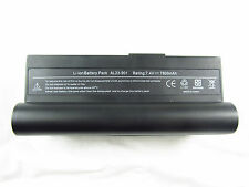 New 8 Cell Battery for Asus Eee PC 1000H 20GB 80GB 1000HA 1000HD 1000HE Black