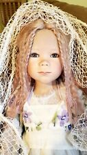 Annette Himstedt Kinder Lunna Doll 2006 no gold version.
