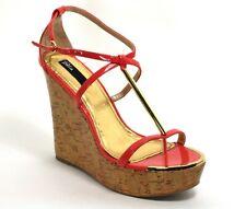 422 Zapatos de Tacón Charol Mujer Elegante Tacones Altos Blink Cuñas Cuña 41