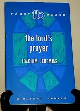 Sermon on the Mount, Joachim Jeremias, Paperback, Facet Books