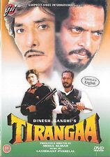 tirangaa - Nana patiker - raaj Kumar - Mamta Kulkarni - neu Bollywood DVD