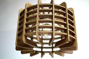 Cardboard Lampshade - Pendant Light, Handmade Lamp, Ceiling light, Eco friendly