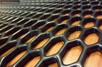 Universal negro ABS 30cm x 40cm Panal Rejilla Parrilla Válvula RR Vogue BRILLO