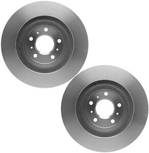 Pair Set of 2 Brake Disc Rotors 322.6mm ACDelco For Buick Cadillac DTS Chevy
