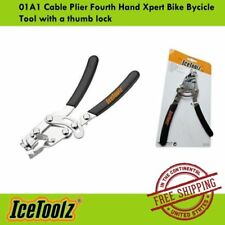 IceToolz 01A1 Cable Plier Fourth Hand Xpert Bike Bycicle Tool with a thumb lock