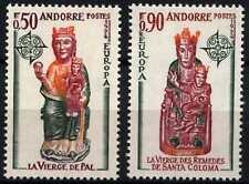Andorra French 1974 SG#F256-7 Europa, Church Sculptures MNH Set #D71810