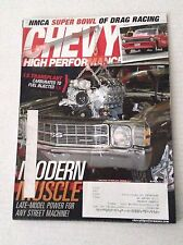 Chevy High Performance Magazine Fuel Injected Modern March 2013 031317NONRH