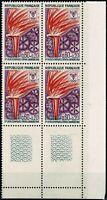 FRANCE Bloc de 4  YT n° 1545 neufs ★★  luxe / MNH  1968 BDF