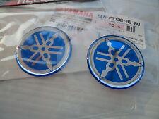 2 x Yamaha Gel Fairing Stickers Decals 40mm FZ FJ YZF RD YZ R1 R6 FZR  *GENUINE*