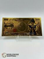Billet 10000 Yen Dragon Ball Z DBZ Gold / Carte Card Carddass / Japan Vegeta