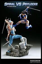 Sideshow MARVEL Spiral VS Psylocke Polystone Diorama Statue - Rare