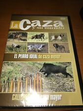 LA CAZA Y SU MUNDO DVD PERRO CAZA MENOR MAYOR CALIBRES