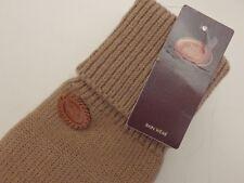 guanti donna in lana e pelle the bridge