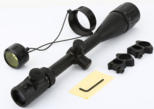 Optics Hunting Rifle Scope 6-24x50 AOE Red Green Illuminated Crosshair Gun Scope