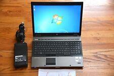 "HP 8740w 17"" Workstation i7 quad 820QM 8GB NVIDIA 2800M 1GB 1920X1200p"