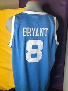 NBA L.A. Lakers Kobe Bryant Hardwood Classics Reebok Adult Jersey Size 2XL
