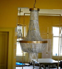 Korblüster Sac a perl Bronze, gold, Kristall,  old chandelier, top design KK52-m