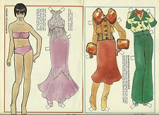 Liza Minnelli Paper Doll from Sweden American actress singer Oscar Emmy Grammy