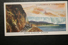 Copper River & North Western Line  Alaska  Original 1930's Vintage Card  VGC