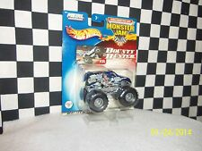 Hot Wheels: Monster Jam, BOUNTY HUNTER, KING KRUNCH 2 trucks, variations 1:64