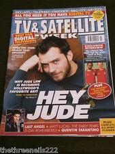 TV & SATELLITE WEEK - JUDE LAW - JUNE 5 2004