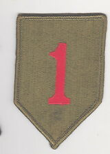 USA  US 1st Infantry Division Big Red One
