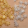 100Pcs Silver & Golden FLOWER DAISY Spacer BEADS 6MM 8MM 10MM  Jewellry Findings